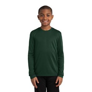 Sport-Tek� Youth Long Sleeve PosiCharge� Competitor� Tee